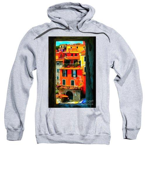 Entry Way Painting Sweatshirt