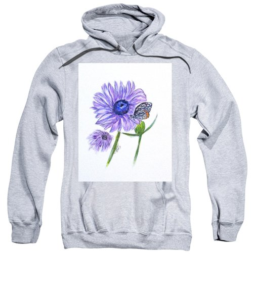 Erika's Butterfly Three Sweatshirt