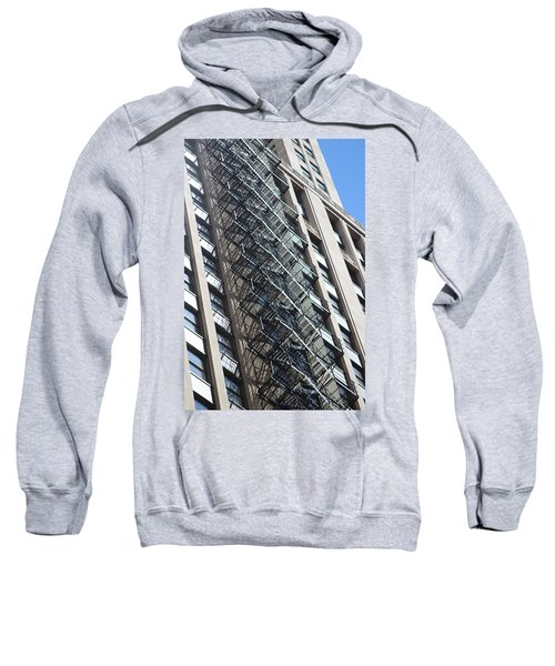 Escaping A Chicago Brownstone Sweatshirt