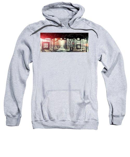 Eternity, Conceptual Background Sweatshirt