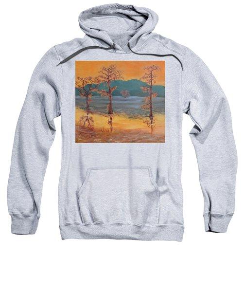 Evening On Caddo Lake Sweatshirt