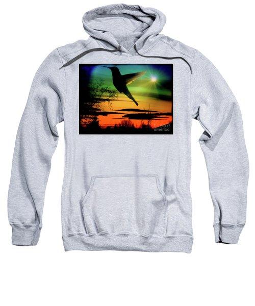 Evening Hummingbird II Sweatshirt