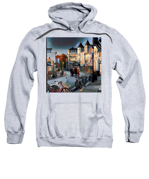 Evening On Mackinac Island Sweatshirt