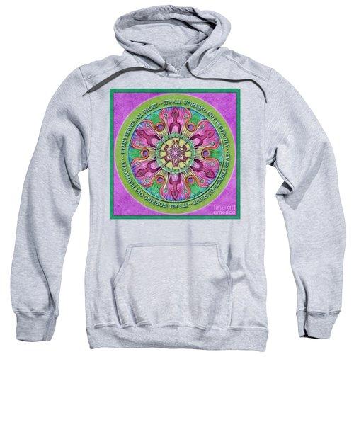 Everything's All Right Mandala Prayer Sweatshirt