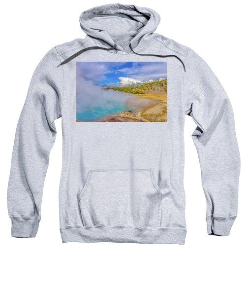 Excelsior Geyser Crater Yellowstone Sweatshirt