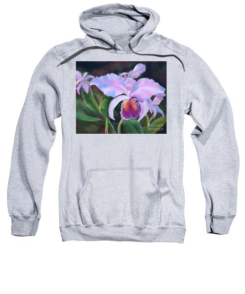 Exotic Pink Orchid Sweatshirt