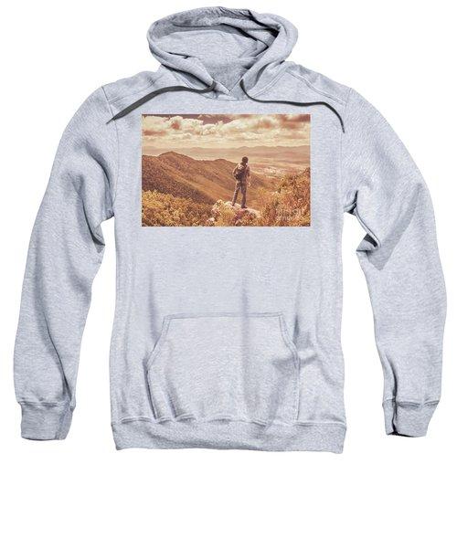 Exploring The Rugged West Coast Of Tasmania Sweatshirt