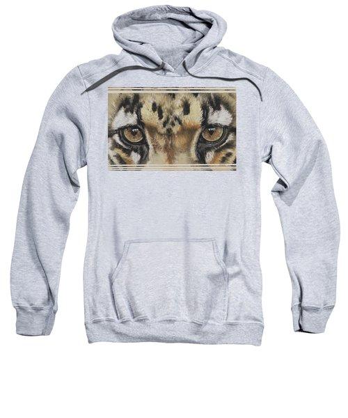 Clouded Leopard Gaze Sweatshirt