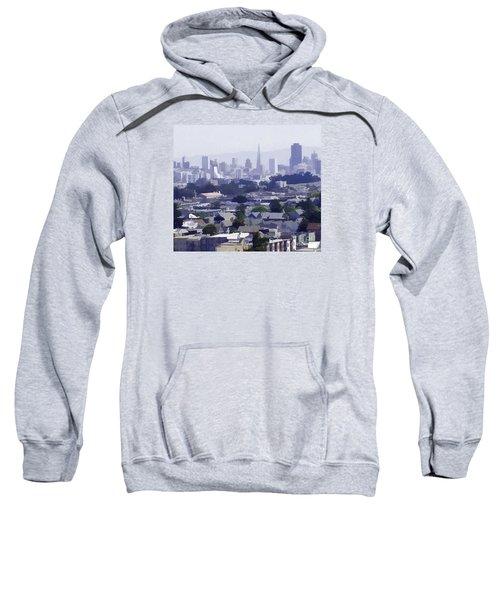Looking East Toward San Francisco Sweatshirt