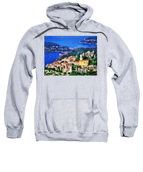 Eze And Cap Ferrat Sweatshirt