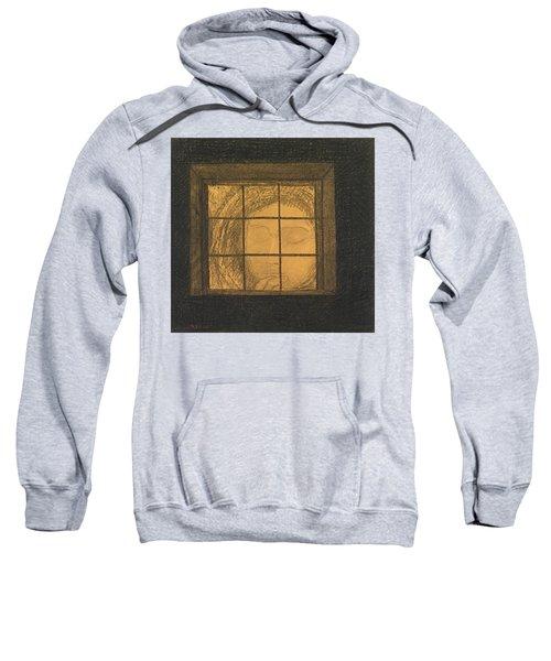 Face Behind A Window  Sweatshirt