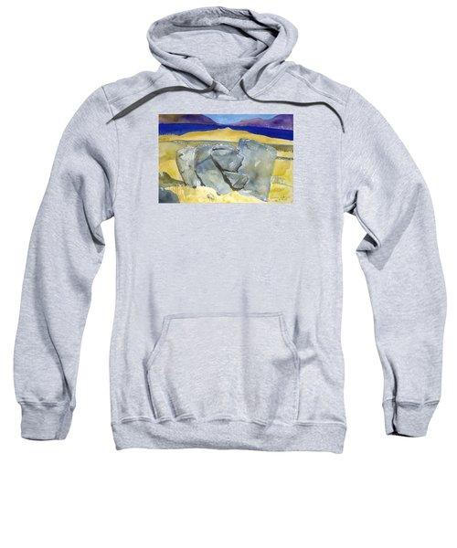 Faces Of The Rocks Sweatshirt