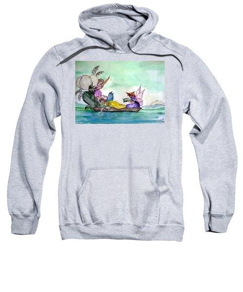 Fairies At Sea Sweatshirt