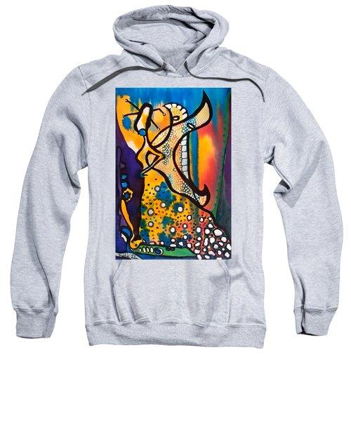 Fairy Queen - Art By Dora Hathazi Mendes Sweatshirt by Dora Hathazi Mendes