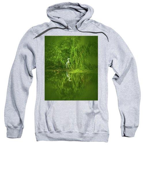 Fairy Tale Heron #g5 Sweatshirt