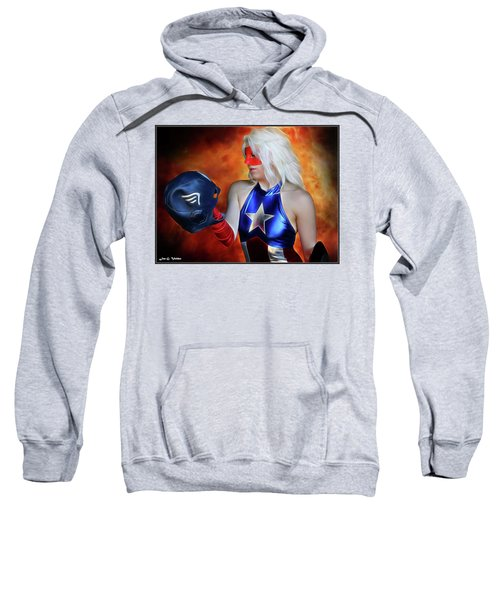 Fall And Rise Of A Hero Sweatshirt