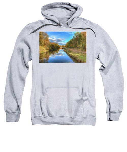 Fall At Brunswick Lake  Sweatshirt