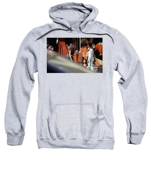 Fall Colors And Bus Riders Sweatshirt