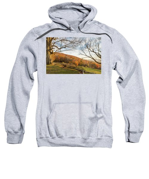 Fall Colors At The Moses Cone Estate Sweatshirt