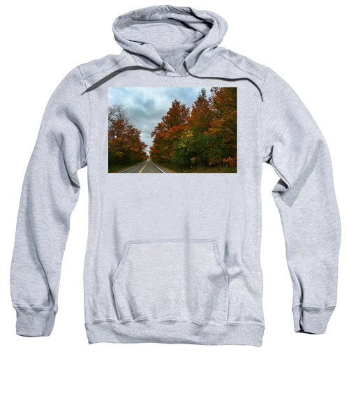 Fall Colors Dramatic Sky Sweatshirt