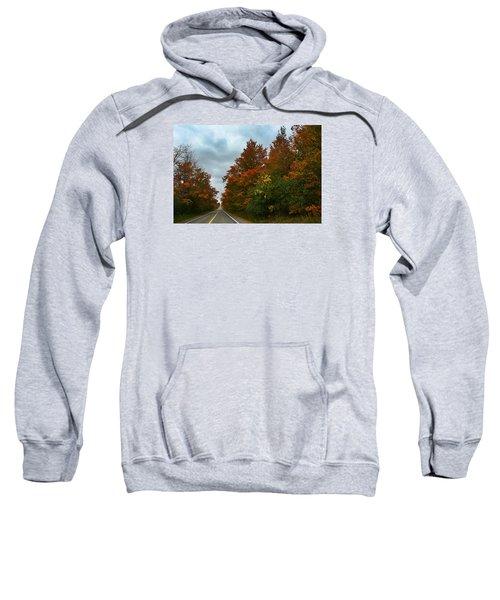 Fall Colors Dramatic Sky Sweatshirt