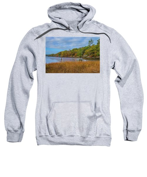 Fall Colors In Edgecomb Too Sweatshirt