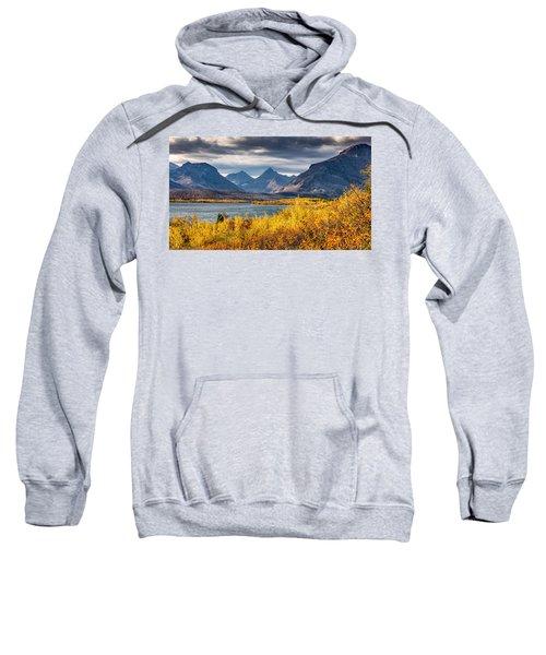 Fall Colors In Glacier National Park Sweatshirt