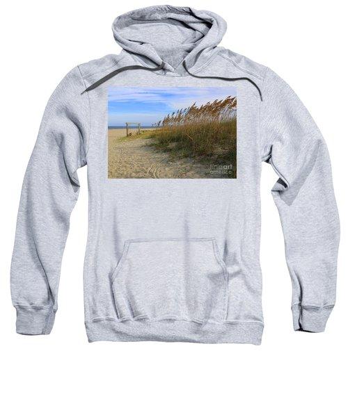Fall Day On Tybee Island Sweatshirt