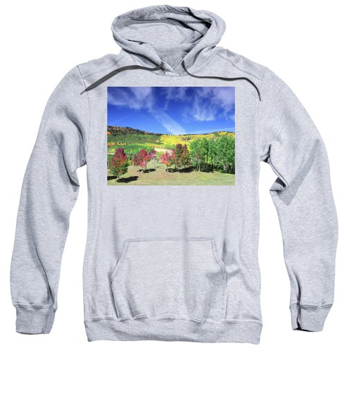 Fall On County Road 12 Sweatshirt