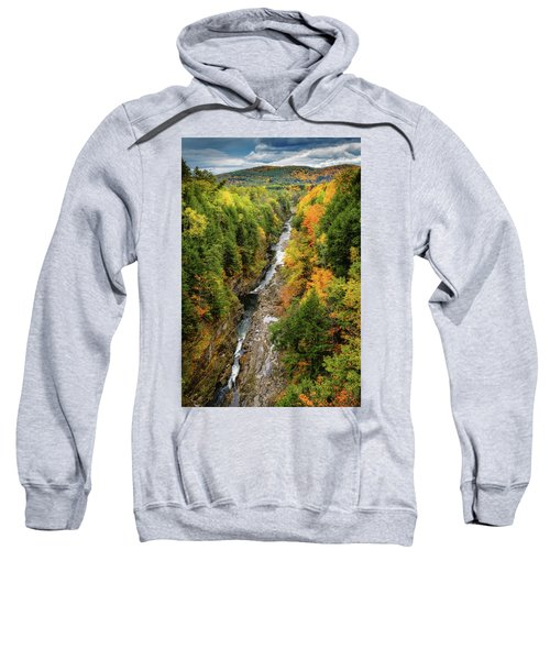 Fall Quechee Gorge, Vt Sweatshirt