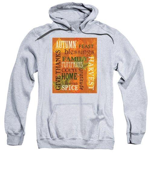Fall Typography 1 Sweatshirt