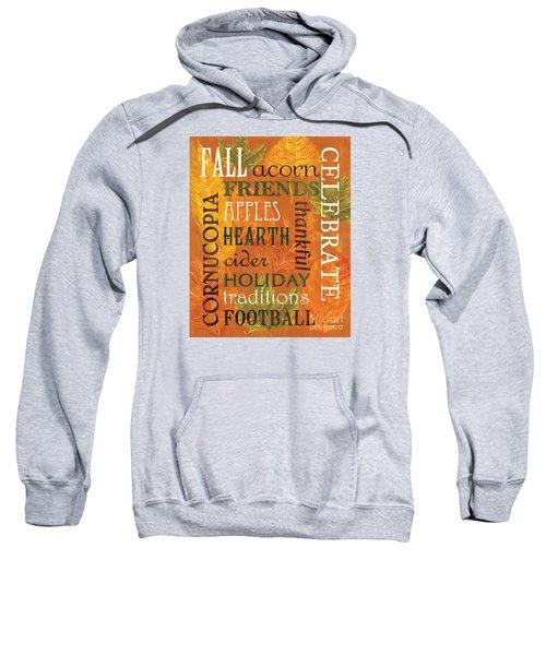 Fall Typography 2 Sweatshirt