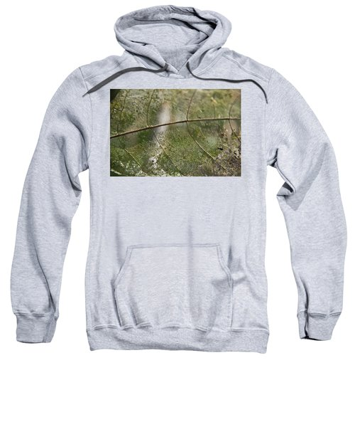 Sweatshirt featuring the photograph fallen Leaf by Debbie Cundy