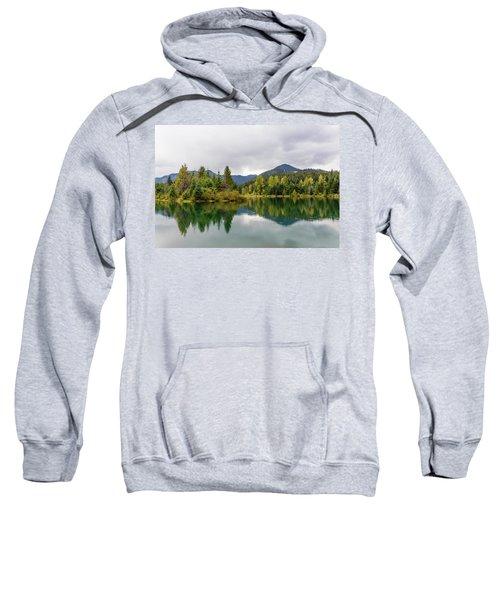 Falls Colors In Gold Creek Pond Sweatshirt