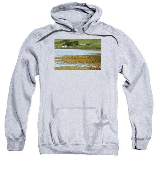 Farm In Isle Of Skye, Uk Sweatshirt