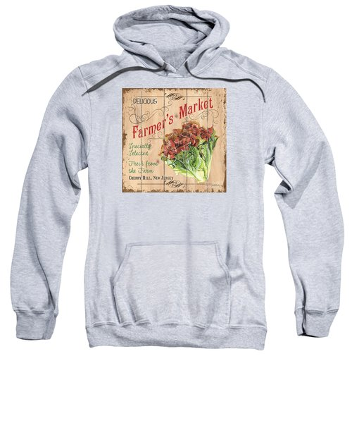 Farmer's Market Sign Sweatshirt