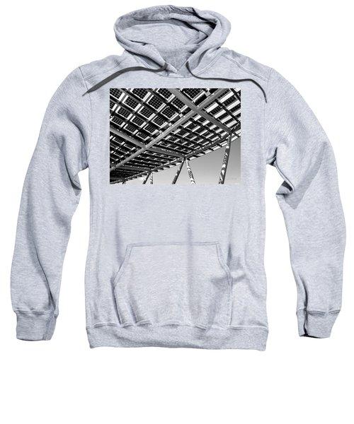 Farming The Sun - Architectural Abstract Sweatshirt