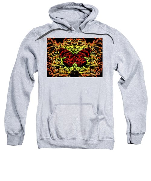 Fear Of The Red Admirals Sweatshirt