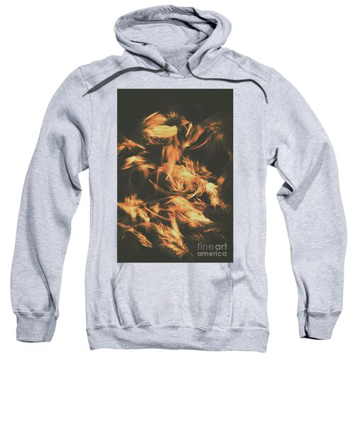Feathers And Darkness Sweatshirt