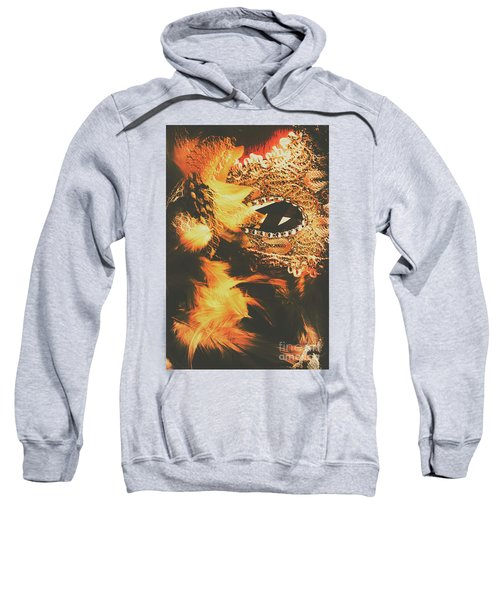 Feathers And Femininity  Sweatshirt