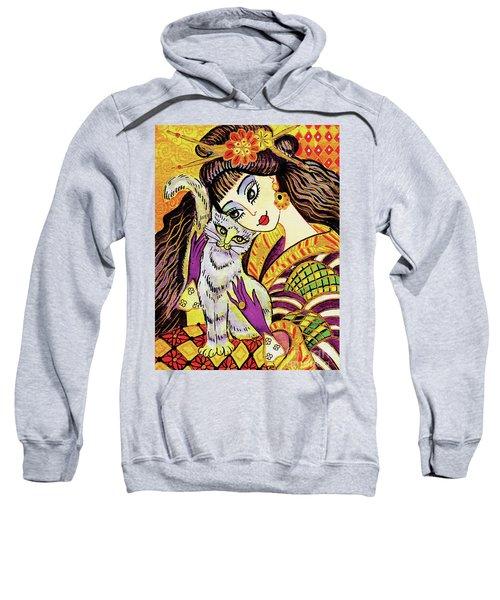 Feline Rhapsody Sweatshirt