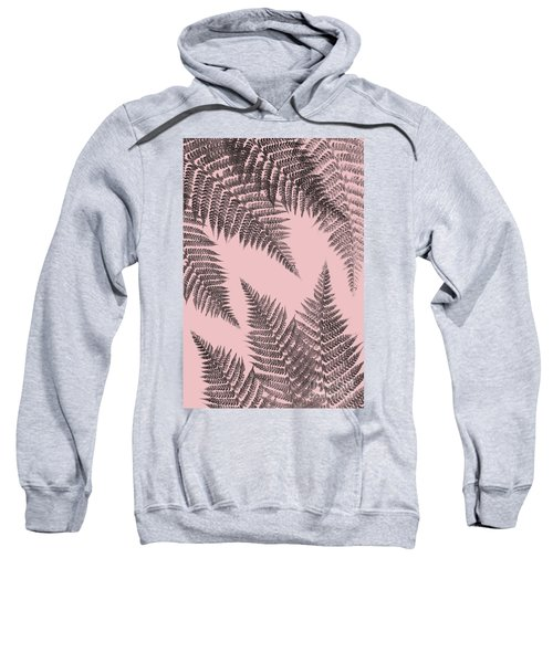 Ferns On Blush Sweatshirt