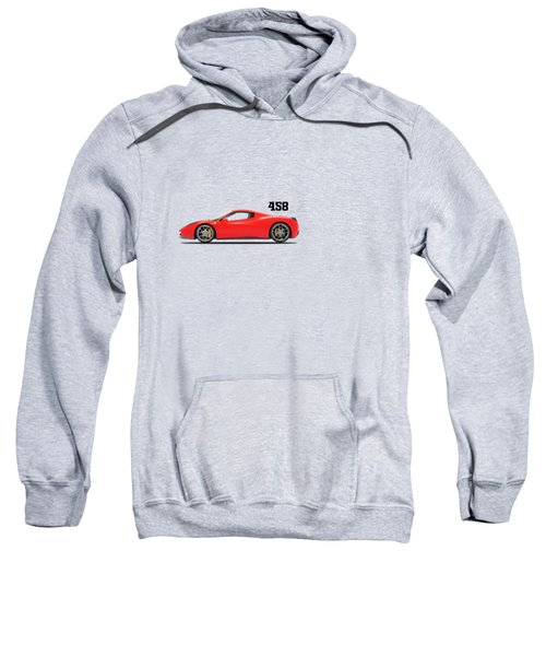 Ferrari 458 Italia Sweatshirt by Mark Rogan