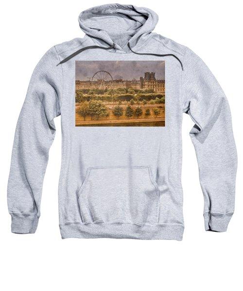 Paris, France - Ferris Wheel Sweatshirt