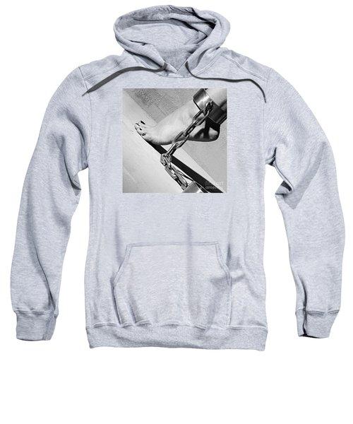 Fetish Shackled Or Cuffed Feet Sweatshirt