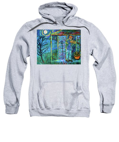 Fiddling At Midnight's Farm House Sweatshirt