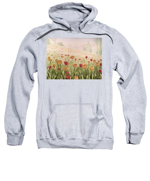 Field Of Tulips Sweatshirt