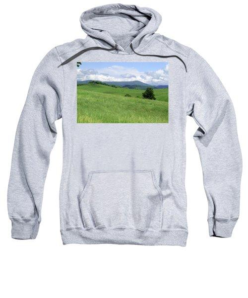 Fields And Hills  Sweatshirt