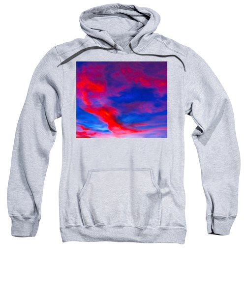 Fiery Dragon Floating Sweatshirt