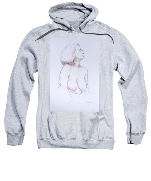 Figure Study Profile 1 Sweatshirt